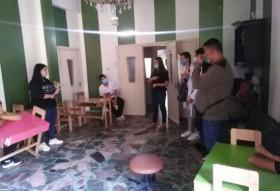 محاضرة ذوي الاحتياجات الخاصة في مركز بسمة التخصصي في مدينة بانياس- طلاب كلية التمريض