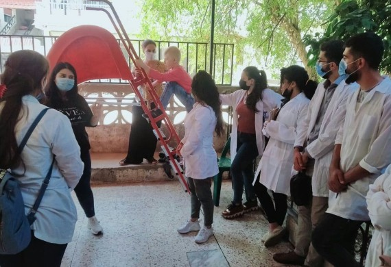 News: محاضرة ذوي الاحتياجات الخاصة في مركز بسمة التخصصي في مدينة بانياس